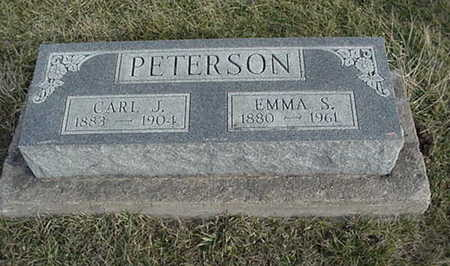 PETERSON, EMMA S. - Jefferson County, Iowa | EMMA S. PETERSON