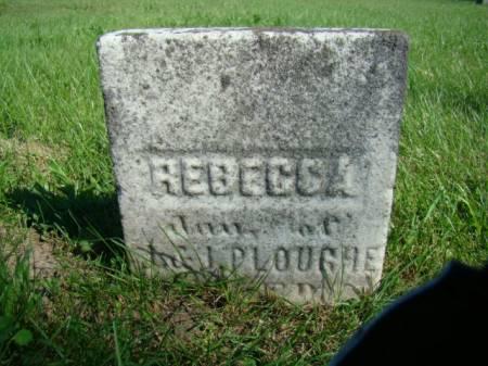 PLOUGHE, REBECCA - Jefferson County, Iowa   REBECCA PLOUGHE