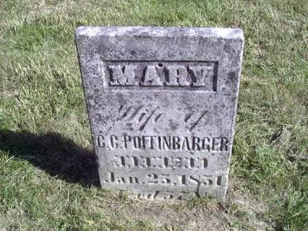 BRANTNER POFFINBARGER, MARY - Jefferson County, Iowa | MARY BRANTNER POFFINBARGER