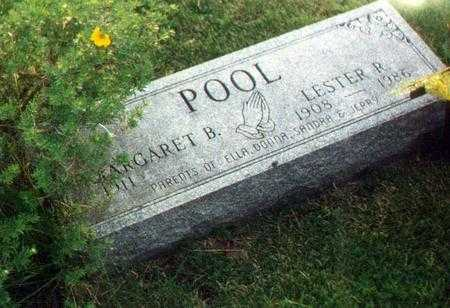 POOL, MARGARET BELLE - Jefferson County, Iowa | MARGARET BELLE POOL