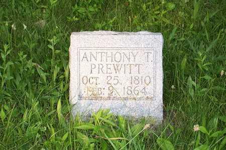 PREWITT, ANTHONY T. - Jefferson County, Iowa   ANTHONY T. PREWITT