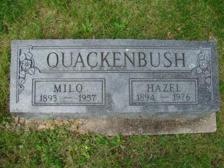 QUACKENBUSH, HAZEL MAE - Jefferson County, Iowa | HAZEL MAE QUACKENBUSH