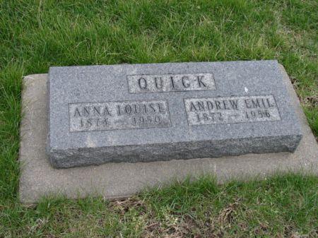 SAMUELSON QUICK, ANNA LOUISE - Jefferson County, Iowa | ANNA LOUISE SAMUELSON QUICK