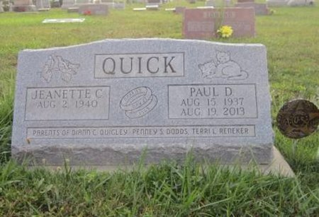 QUICK, PAUL DEAN - Jefferson County, Iowa | PAUL DEAN QUICK