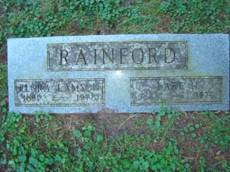 RAINFORD, EARL HUGHES - Jefferson County, Iowa   EARL HUGHES RAINFORD