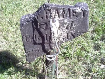 RAMEY, INFANT SON - Jefferson County, Iowa   INFANT SON RAMEY
