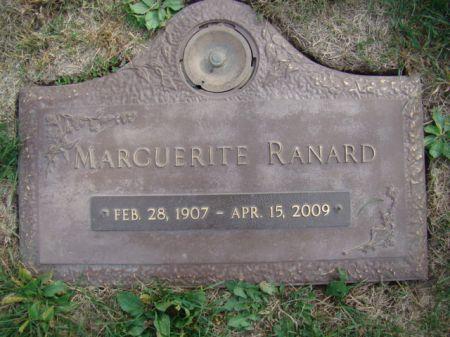 FAULKNER RANARD, MARGUERITE MAY - Jefferson County, Iowa   MARGUERITE MAY FAULKNER RANARD