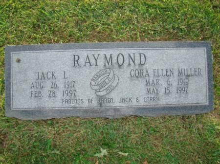 RAYMOND, CORA ELLEN - Jefferson County, Iowa   CORA ELLEN RAYMOND