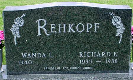 REHKOPF, RICHARD EUGENE - Jefferson County, Iowa | RICHARD EUGENE REHKOPF