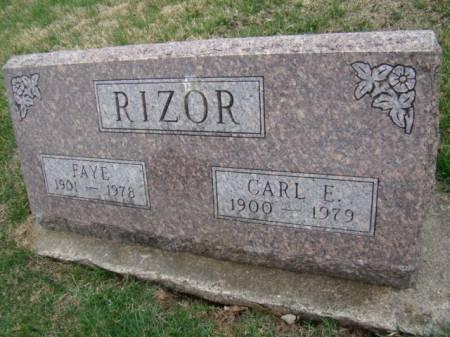 RIZOR, CARL E - Jefferson County, Iowa | CARL E RIZOR