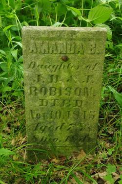 ROBISON, AMANDA B. - Jefferson County, Iowa   AMANDA B. ROBISON