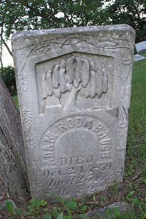 RODABAUGH, ADAM - Jefferson County, Iowa   ADAM RODABAUGH
