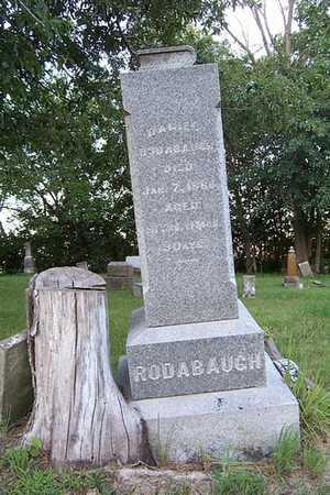 RODABAUGH, DANIEL - Jefferson County, Iowa | DANIEL RODABAUGH