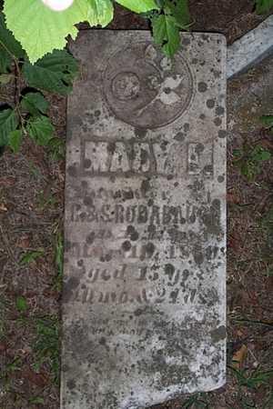 RODABAUGH, MARY E. - Jefferson County, Iowa   MARY E. RODABAUGH