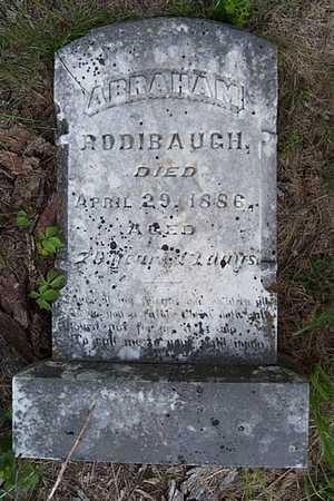 RODIBAUGH, ABRAHAM - Jefferson County, Iowa | ABRAHAM RODIBAUGH