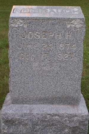 RODIBAUGH, JOSEPH H. - Jefferson County, Iowa | JOSEPH H. RODIBAUGH