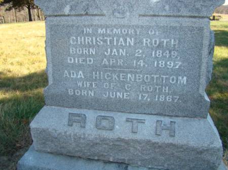 ROTH, CHRISTIAN - Jefferson County, Iowa | CHRISTIAN ROTH