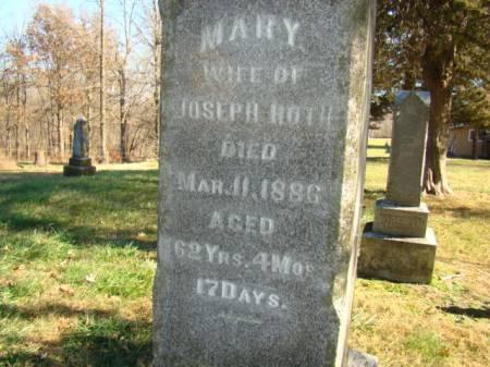 KLOPFENSTEIN ROTH, MARY - Jefferson County, Iowa | MARY KLOPFENSTEIN ROTH