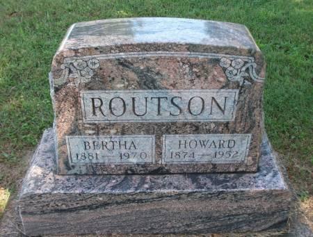 MCCLAIN ROUTSON, JULIA BERTHA - Jefferson County, Iowa | JULIA BERTHA MCCLAIN ROUTSON