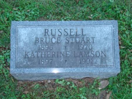RUSSELL, BRUCE STUART - Jefferson County, Iowa   BRUCE STUART RUSSELL