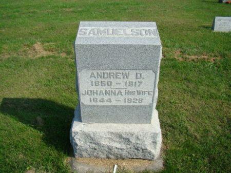 PETERSON SAMUELSON, JOHANNA - Jefferson County, Iowa   JOHANNA PETERSON SAMUELSON