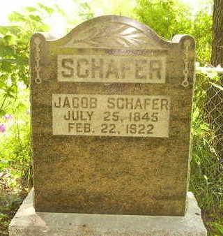 SCHAFER, JACOB - Jefferson County, Iowa | JACOB SCHAFER