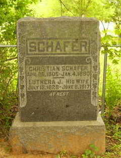 SCHAFER, CHRISTIAN - Jefferson County, Iowa   CHRISTIAN SCHAFER