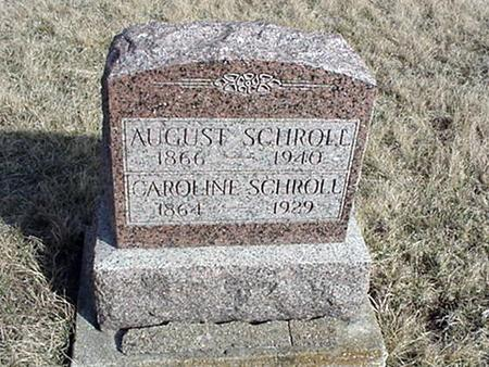 SCHROLL, AUGUST - Jefferson County, Iowa | AUGUST SCHROLL