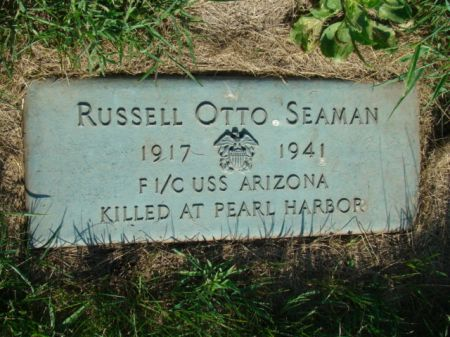 SEAMAN, RUSSELL OTTO - Jefferson County, Iowa | RUSSELL OTTO SEAMAN