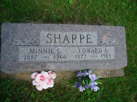 SHARPE, MINNIE CORDELIA - Jefferson County, Iowa | MINNIE CORDELIA SHARPE
