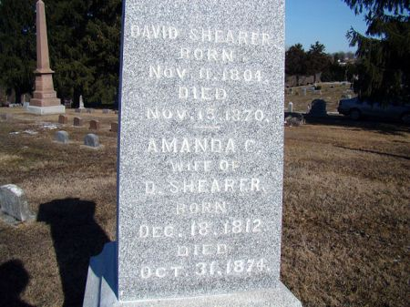 SHEARER, DAVID S - Jefferson County, Iowa | DAVID S SHEARER