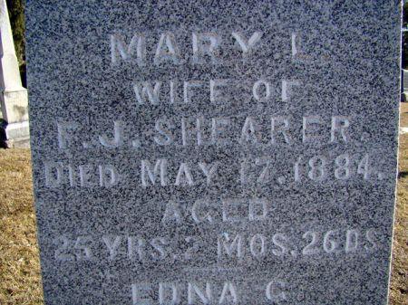SHEARER, MARY LENORA - Jefferson County, Iowa   MARY LENORA SHEARER