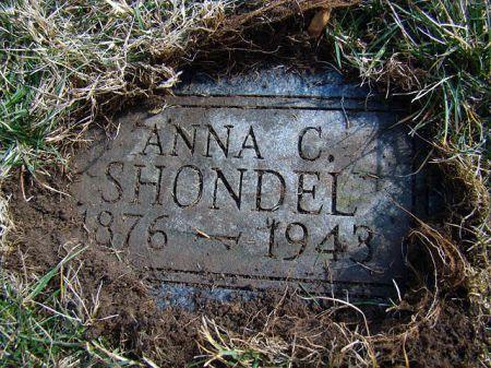 SHONDEL, ANNA CATHERINE - Jefferson County, Iowa | ANNA CATHERINE SHONDEL