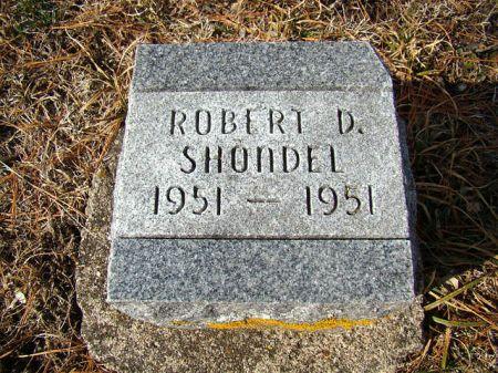 SHONDEL, ROBERT DEAN - Jefferson County, Iowa   ROBERT DEAN SHONDEL