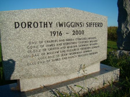 SIFFERD, DOROTHY - Jefferson County, Iowa | DOROTHY SIFFERD