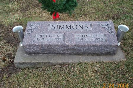 SIMMONS, BETTE - Jefferson County, Iowa | BETTE SIMMONS