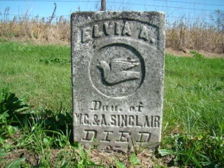 SINCLAIR, ELVIA A - Jefferson County, Iowa | ELVIA A SINCLAIR