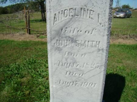 BRASS SMITH, ANGELINE L - Jefferson County, Iowa   ANGELINE L BRASS SMITH