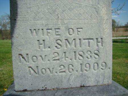 HUDSON SMITH, ELIZABETH - Jefferson County, Iowa   ELIZABETH HUDSON SMITH