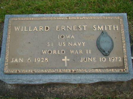 SMITH, WILLARD ERNEST - Jefferson County, Iowa | WILLARD ERNEST SMITH