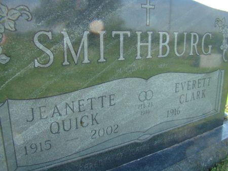 SMITHBURG, EVERETT CLARK - Jefferson County, Iowa | EVERETT CLARK SMITHBURG