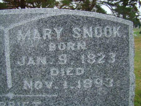SNOOK, MARY - Jefferson County, Iowa | MARY SNOOK