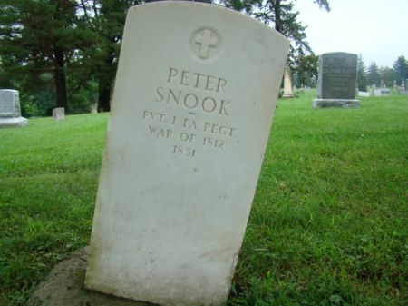 SNOOK, PETER - Jefferson County, Iowa | PETER SNOOK