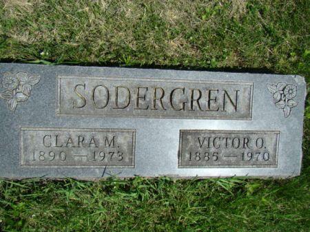 SODERGREN, CLARA MAY - Jefferson County, Iowa | CLARA MAY SODERGREN