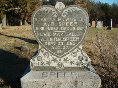 SPEER, ROSETTA MCMULLIN PATTISON - Jefferson County, Iowa | ROSETTA MCMULLIN PATTISON SPEER