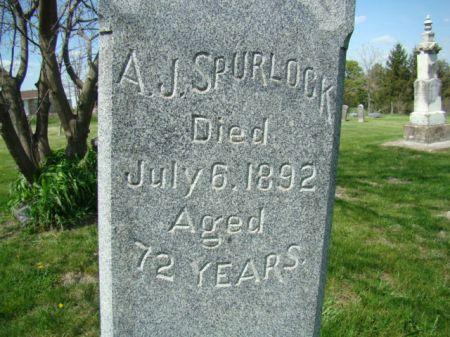 SPURLOCK, ANDREW JACKSON - Jefferson County, Iowa | ANDREW JACKSON SPURLOCK
