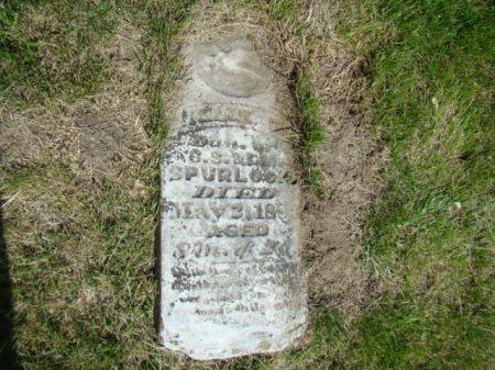 SPURLOCK, LILLIE M - Jefferson County, Iowa | LILLIE M SPURLOCK