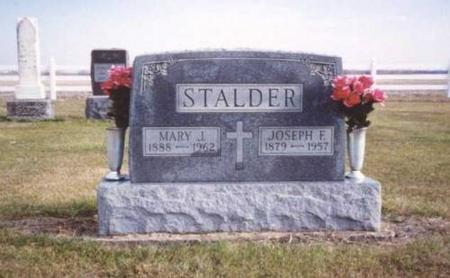 STALDER, JOSEPH & MARY - Jefferson County, Iowa | JOSEPH & MARY STALDER
