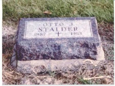STALDER, OTTO J. - Jefferson County, Iowa | OTTO J. STALDER