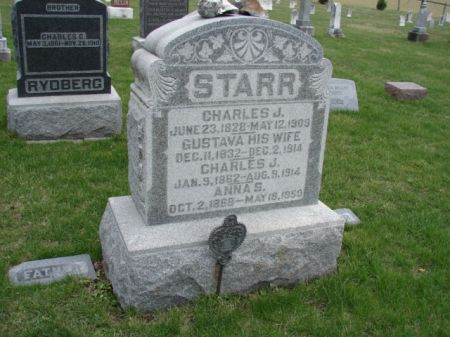STARR, GUSTAVA - Jefferson County, Iowa | GUSTAVA STARR